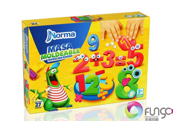玩具包装盒印刷
