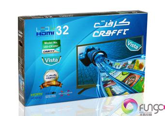 32寸平口电视包装箱印刷