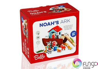 带双安全扣玩具包装盒印刷