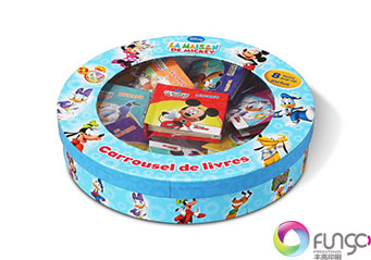 圆形玩具包装彩盒